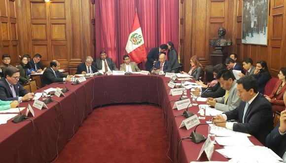 Comisión de Transportes aprobó texto sobre publicidad estatal en los medios de comunicación (Foto: Congreso de la República)
