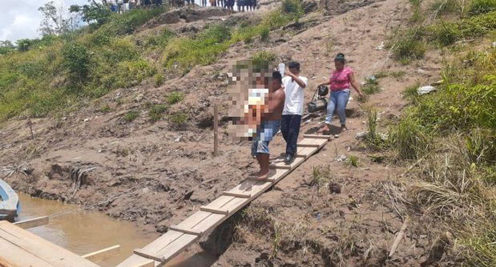 El personal asistencial del centro de salud de San Roque de Maquia pidió la presencia de una avioneta privada a la Dirección Regional de Salud, para salvaguardar la vida de la madre adolescente y de su niño (Foto: cortesía)