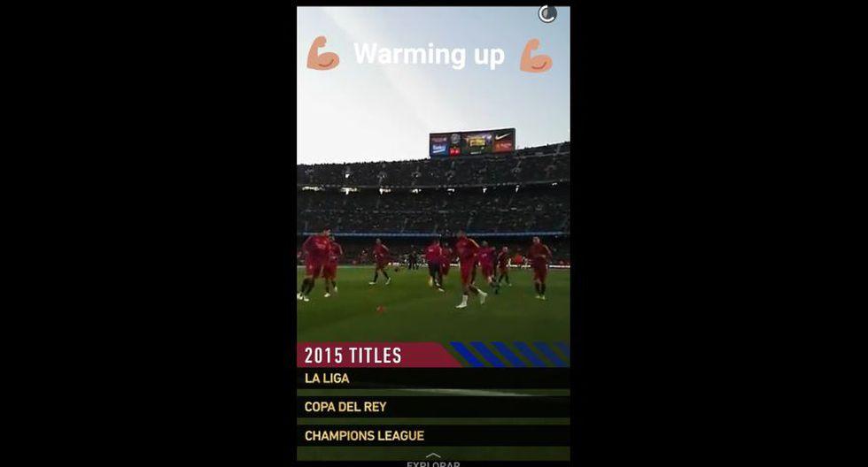 Así se vivió el Barcelona vs. Real Madrid en Snapchat - 9