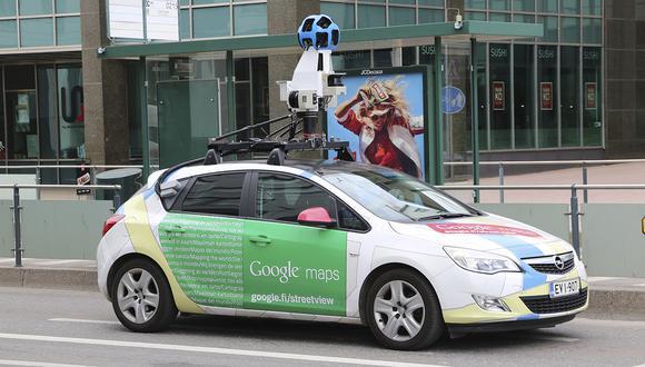 Uno de los autos que usa Google para captar imágenes para Google Maps. (Pixabay)