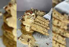 La receta de pancakes de camote que puedes preparar con 5 ingredientes