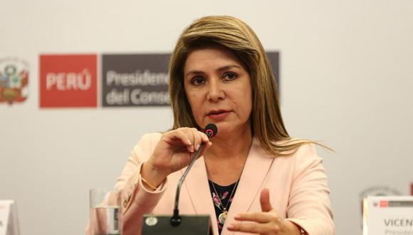La ministra Elizabeth Hinostroza pidió respetar el aislamiento social para evitar que se produzcan más casos como este. (Foto: GEC)
