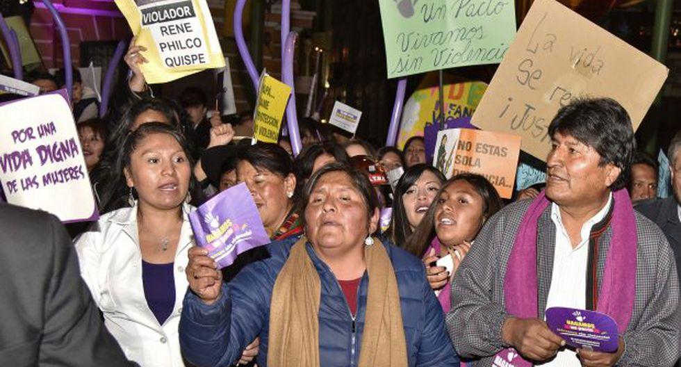 En Bolivia se han registrado 79 casos de feminicidios en lo que va de este año. (Foto: AFP)