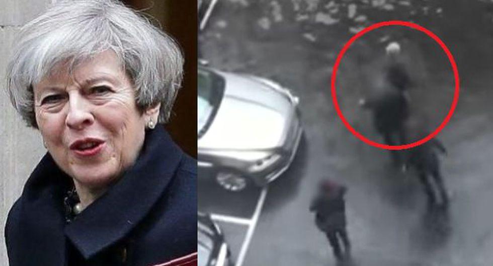 Londres: Así evacuaron a May del Parlamento tras ataque [VIDEO]