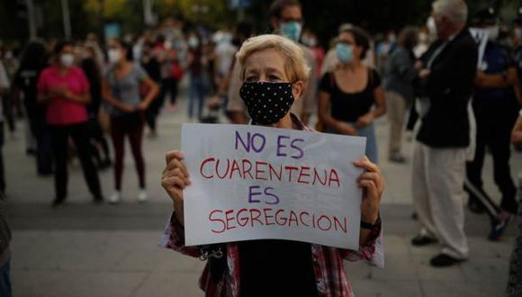 Muchos vecinos del sur de Madrid consideran que las medidas son discriminatorias. (Getty Images).