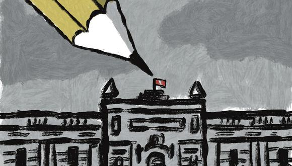 """""""Hay que tener en cuenta que el populismo es una técnica política de contenido ideológico tenue o inexistente"""" (Ilustración: Víctor Aguilar Rúa)."""