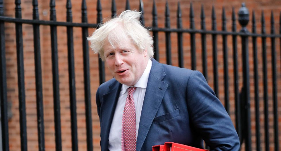 Boris Johnson, canciller británico. (Foto: AFP)