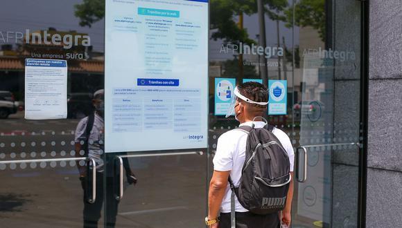 El trámite para presentar la solicitud para el retiro de 17,600 soles es 100% virtual. (Foto: GEC)