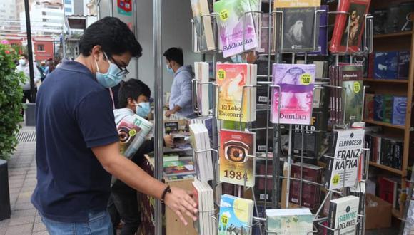 El ingreso a la Feria del Libro de Miraflores es gratuito. El evento se realiza desde el viernes 23 de julio en el parque Kennedy | Foto: Cámara Peruana del Libro