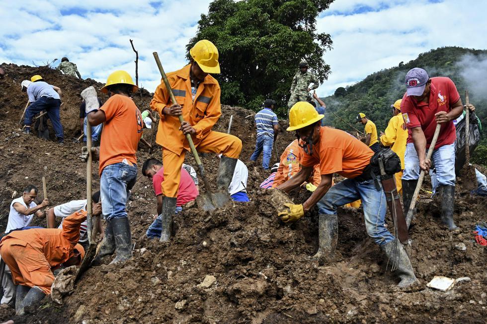 Colombia | Derrumbe en Rosas, Cauca: una tragedia anunciada. Foto: AFP