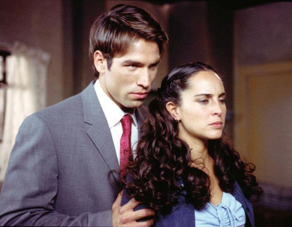 Rafael Amaya en los primeros años de su carrera como actor
