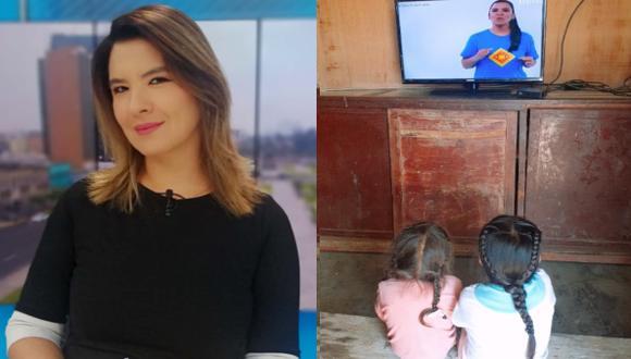 """""""Estoy muy emocionado con esas imágenes que  nos ha llegado con niños de todo el Perú"""", dijo Fátima (Foto: Captura YouTube/MINEDU)"""