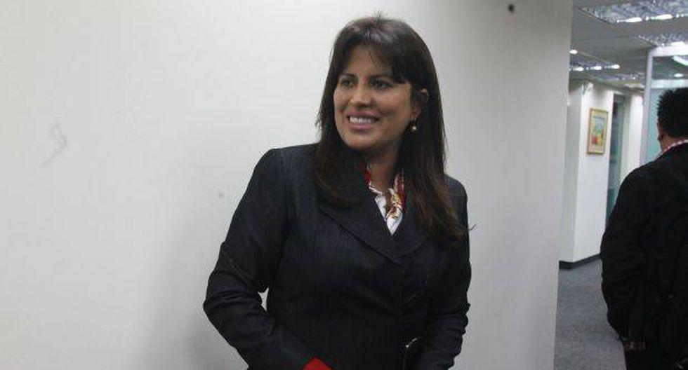 JEE declaró infundado pedido de exclusión contra Carmen Omonte