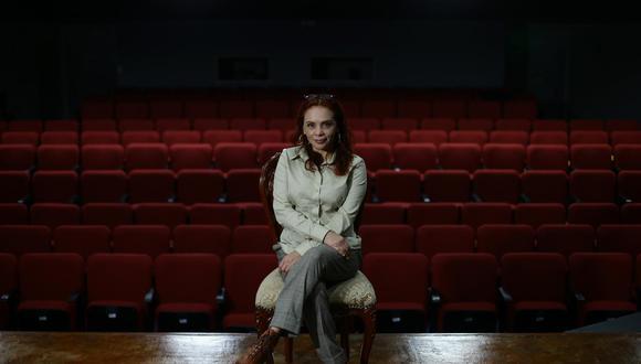 Lucía Lora, la directora de la Ensad, nació en Arequipa en 1971. (Foto: Jesús Saucedo)