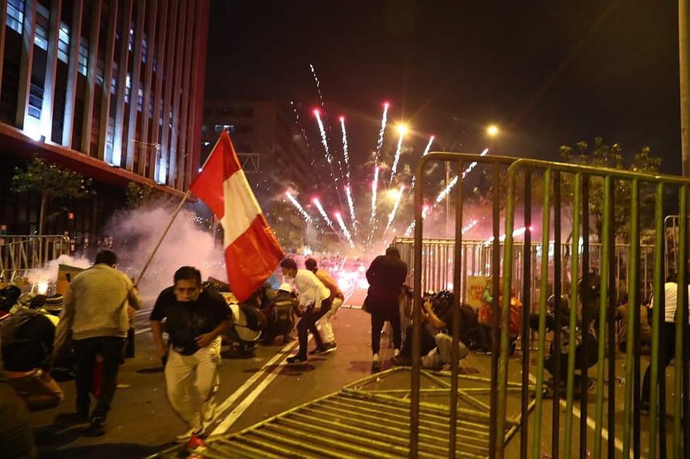 Protestas en Lima desde el lente de Alessandro Currarino