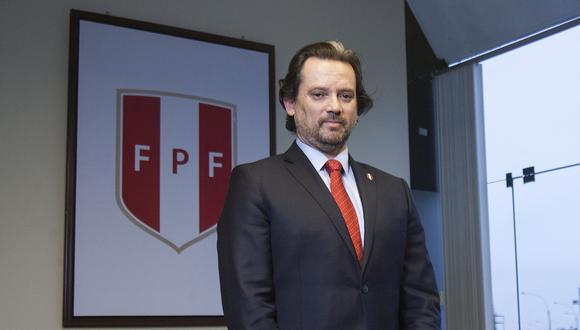 Juan Matute dio a conocer las consecuencias de derogar la Ley de Fortalecimiento de la FPF. Además, la intención de la FPF para dialogar con el Congreso. (Foto: El Comercio)