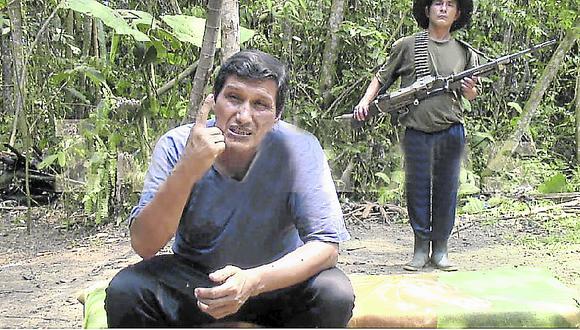 Esta mañana, el Comando Conjunto de las Fuerzas Armadas confirmó la muerte del terrorista Jorge Quispe Palomino (captura: video de Youtube )