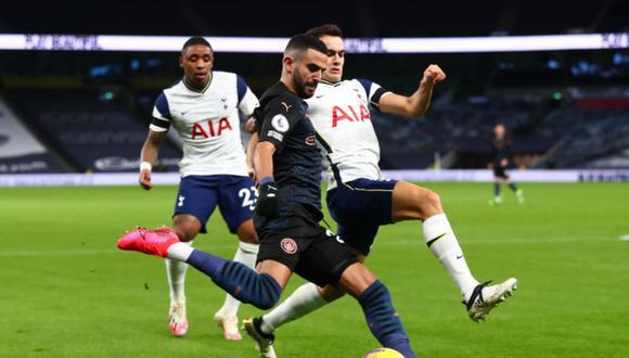 Tottenham y Manchester City se enfrentan en un partidazo por la Premier League | Foto: @SpursOfficial
