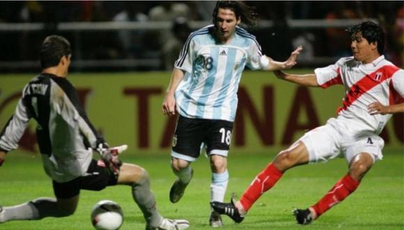 Lionel Messi llegó a 76 goles con la selección argentina. Solo una vez le marcó a Perú.