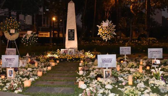 El CMP también informó que realizó una emotiva ceremonia en el Día de los Muertos en los exteriores de la institución, ubicada en el distrito de Miraflores. (Foto: CMP)