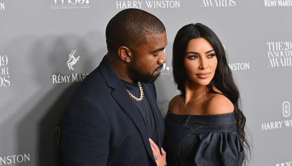 Kim Kardashian y Kanye West se casaron en el 2014 y tienen cuatro hijos. (Foto: Angela Weiss / AFP)