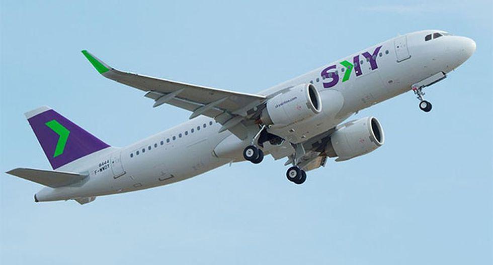 Sky estrenará nueva flota de Airbus. (Foto: Difusión)