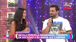 Alejandra Campaña habló por primera vez de su relación con Nicola Porcella