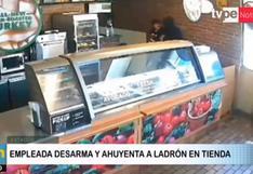 EE.UU.: Empleada de Subway desarma y ahuyenta a ladrón que ingresó a robar en su tienda