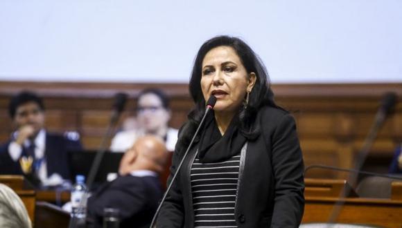 Ministra de la Mujer lamentó el caso del asesinato de las dos menores. (Foto: Congreso)