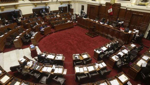 Este jueves el pleno del Congreso revisará los proyectos aprobados en la Comisión de Constitución. (Foto: GEC)