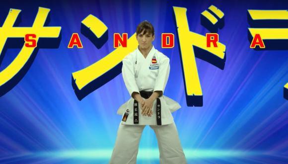 La karateca española Sandra Sánchez ha protagonizado su propio anime antes de viajar a Tokio 2020. (Foto: Pelayo Seguros)