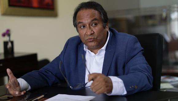 """""""Me niego a pensar que el peruano sea, en general, electoralmente populista; me parece que es mucho más racional que su clase política"""", dice el abogado y analista político. (Foto: Anthony Niño de Guzmán / GEC)"""