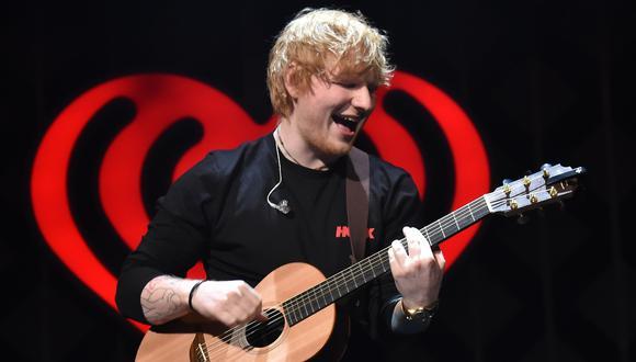 Ed Sheeran, durante una presentación en Nueva York en diciembre del 2017. Este sábado anunció su compromiso vía Instagram. (Foto: AFP)