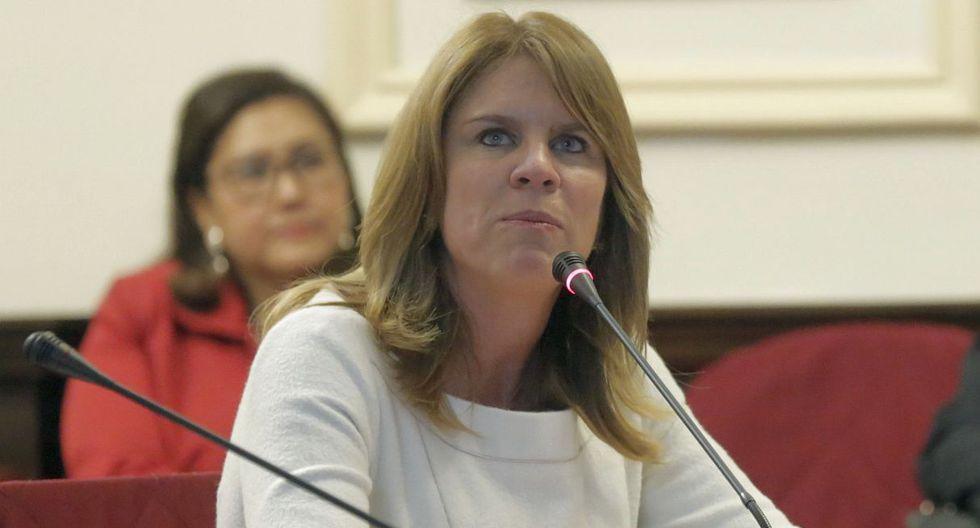 La canciller Cayetana Aljovín respaldó posición del Congreso de solicitar aclaración a la Corte IDH sobre decisión sobre caso de magistrados del TC. (Foto: El Comercio)