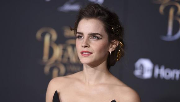 Watson es conocida principalmente por haber interpretado al personaje de Hermione Granger en la saga de películas de Harry Potter. (Foto: AP)
