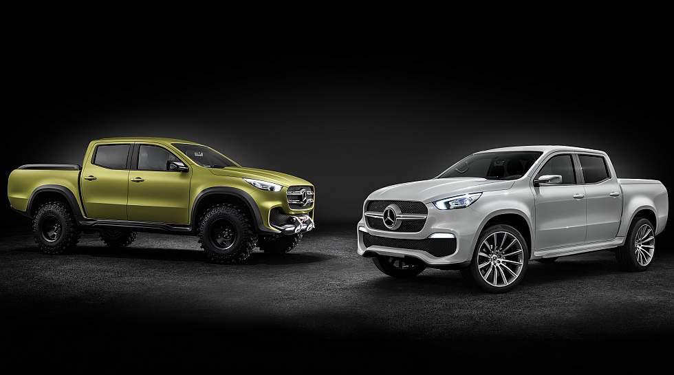 Tras algunos años en medio de bocetos y especulaciones, Mercedes-Benz reveló el prototipo final de su primera pick-up, a la cual han denominado Clase X. (Fotos: Difusión)