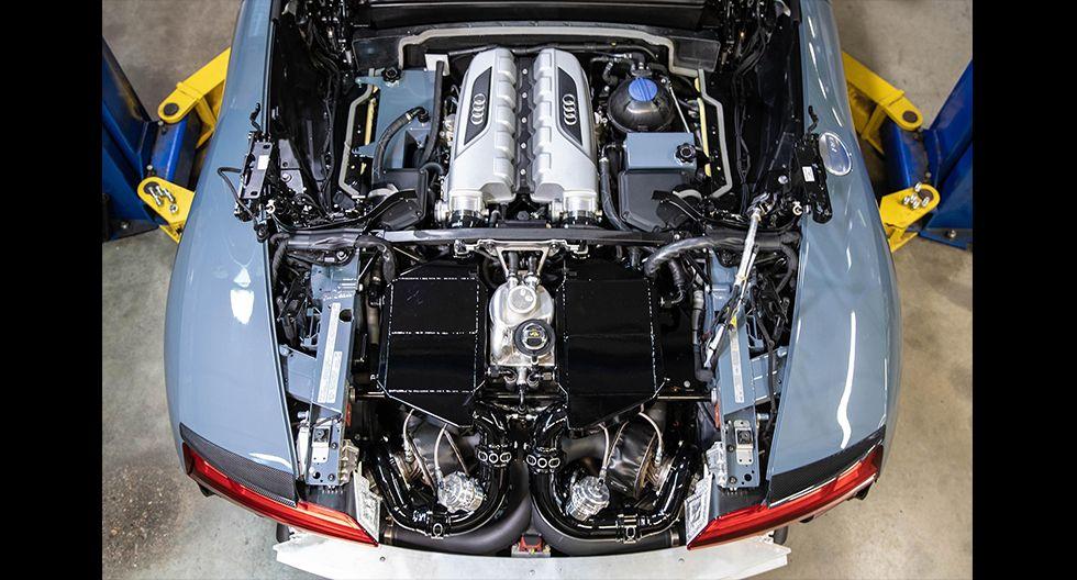 El Audi R8 V10 modificado por el especialista Novitec alcanza una aceleración de 0 a 96 km/h en tan solo 3.2 segundos. (Fotos: Novitec).