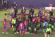San Luis vs. Santos: lo que se dijeron en la bronca que terminó con denuncia de racismo | VIDEOS