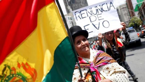 Las protestas en contra de Morales han congregado incluso a algunos de sus antiguos aliados. (Reuters).