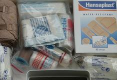 ¿Qué debe contener tu botiquín de primeros auxilios?