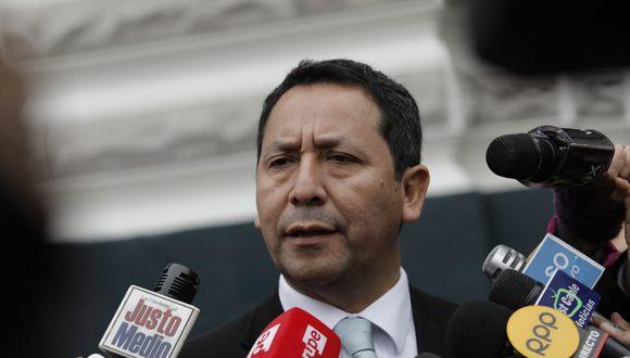 El legislador Clemente Flores indicó que convencerán a quienes piensen distinto. (Foto: Anthony Niño De Guzmán / GEC)