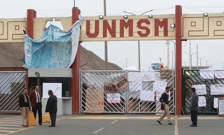 San Marcos: estudiantes evalúan levantar la toma y entregar el campus