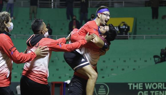 Perú venció a Bosnia y Herzegovina en la Copa Davis. (Foto: Tenis al máximo)
