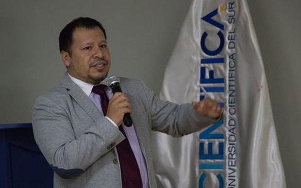 Percy Maita Tristan, redattore scientifico e direttore del Project Management e della promozione della ricerca presso la Southern Scientific University.  (Foto: trasmissione)