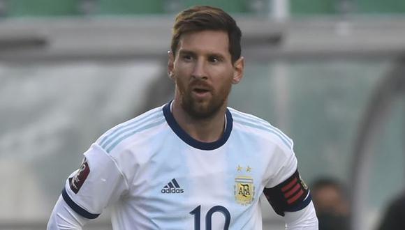 Lionel Messi fue nuevamente el blanco de las críticas del periodista Fernando Niembro (Foto: AFP)