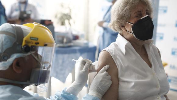 La Asociación Peruana de Empresas de Seguros brindó detalles de la vacunación que empezará el lunes 29 de marzo. (Foto: Archivo GEC)