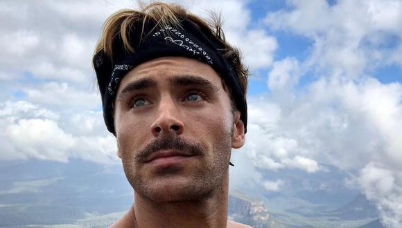 Zac Efron (31) está en Lima, Perú, con su hermano Dylan. Foto: Instagram.