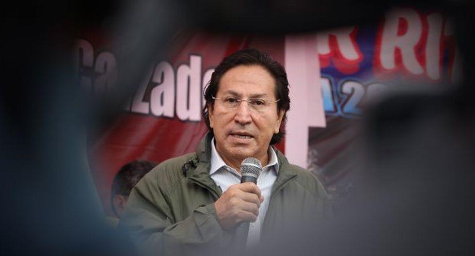Alejandro Toledo tiene en curso otra orden de arresto provisorio con fines de extradición por el Caso Odebrecht. (Foto: Archivo El Comercio)