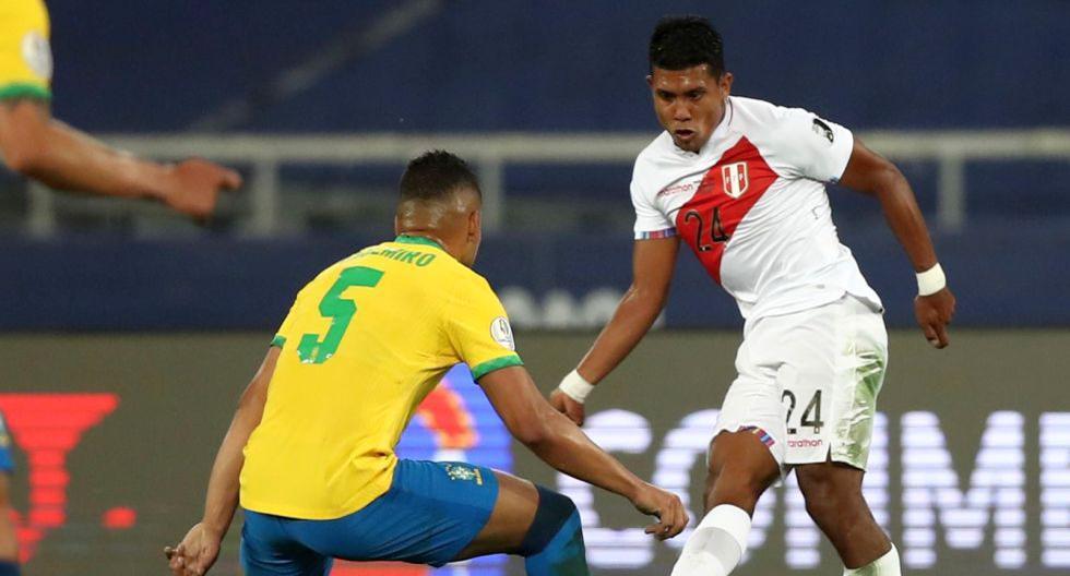 Raziel García recibió muchos elogios tras el Perú vs. Brasil. (Foto: FPF)