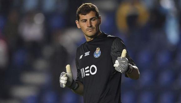 Las confesiones de Iker Casillas a un año de sufrir un infarto en el Porto. (Foto: AFP)